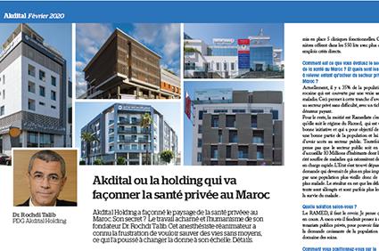 Akdital ou la holding qui va façonner la santé privée au Maroc